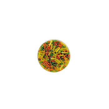 Koraliki ozdobne, różnokolorowe, 16 g
