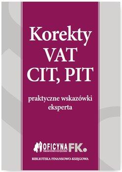 Korekty VAT, CIT, PIT                      (ebook)