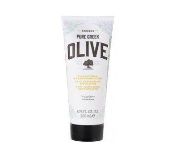 Korres, Pure Greek Olive, oczyszczająca emulsja do twarzy, 200 ml-Korres