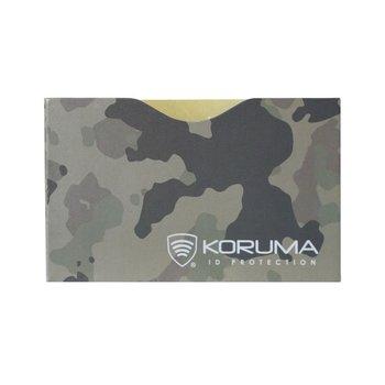 Koruma, Etui antykradzieżowe, moro, 5,7x8,8 cm-Koruma