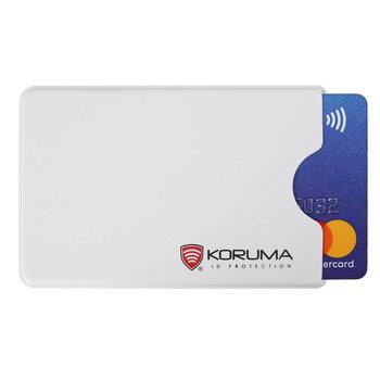 Koruma, Etui antykradzieżowe RFID, białe, 5,9x9 cm-Koruma