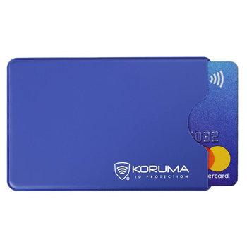 Koruma, Etui antykradzieżowe RFID, niebieskie, 5,9x9 cm-Koruma