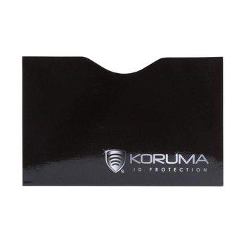 Koruma, Etui na karty, czarne, 5,7x8,8 cm-Koruma