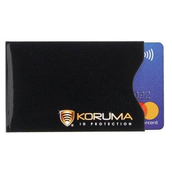 Koruma, Etui na karty RFID, czarne, 5,7x8,8 cm-Koruma