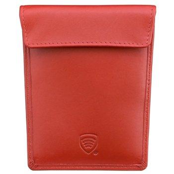 Koruma, Etui na karty RFID, czerwone, 8,5x12 cm-Koruma
