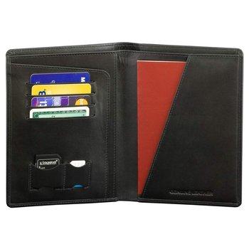 Koruma, Portfel na dokumenty RFID, czarny, 11x15 cm-Koruma