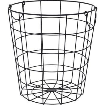 Kosz metalowy do przechowywania HOME STYLING COLLECTION, czarny, 34 cm-Home Styling Collection