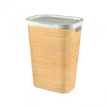 Kosz na bieliznę CURVER Infinity, bambus, 60 l -Curver