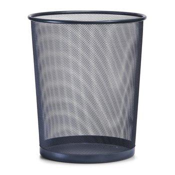 Kosz na papier z siatki stalowej ZELLER, czarny, 30x35 cm-Zeller
