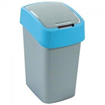 Kosz na śmieci CURVER Flip Bin, szaro-niebieski, 25 l -Curver