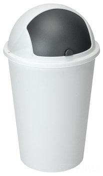 Kosz na śmieci EMAKO, biały, 50 l-Emako