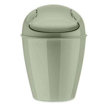 Kosz na śmieci KOZIOL Del, zielony, 13x19 cm-Koziol