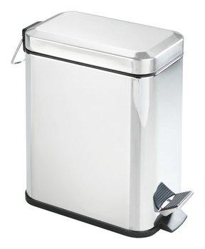 Kosz na śmieci z pokrywą WENKO, srebrny, 5 l-WENKO