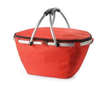 Kosz termiczny na zakupy KEMER FROS Czerwony - czerwony-KEMER