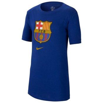 Koszulka dziecięca, FC Barcelona B NK Tee Evergreen Crest CD3199 455, granatowy, rozmiar XL-Nike