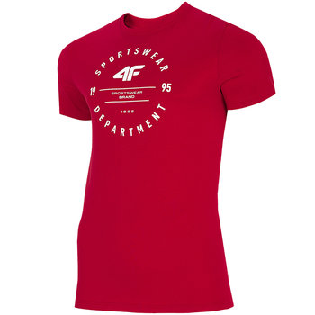 Koszulka męska 4F czerwona H4L21 TSM030 62S-4F