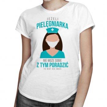 Koszulkowy, Koszulka damska, Jeżeli pielęgniarka nie może sobie z tym poradzić, rozmiar M-Koszulkowy