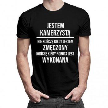 Koszulkowy, Koszulka męska, Jestem kamerzystą, rozmiar XXL-Koszulkowy