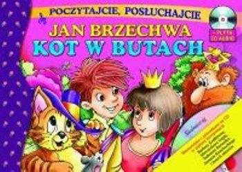Kot W Butach Cd Brzechwa Jan Książka W Sklepie Empikcom