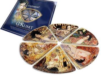 Kpl 6 talerzy  - G. Klimt -Hanipol