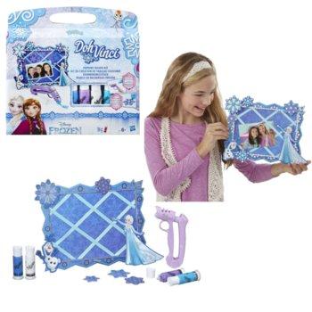 Kraina Lodu, DohVinci, zestaw kreatywny Ramka Elsa i Olaf-Hasbro