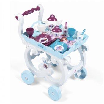 Kraina Lodu II, wózek z zastawą, zestaw -Smoby