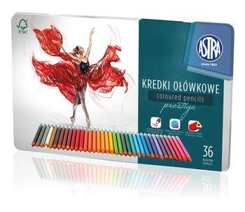Kredki ołówkowe, Prestige, 36 kolorów-Astra