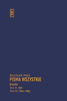 Kroniki. Tom 10-11-Prus Bolesław