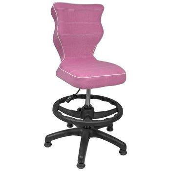 Krzesło ENTELO Petit Visto 08, różowo-czarne, Rozmiar 4-ENTELO
