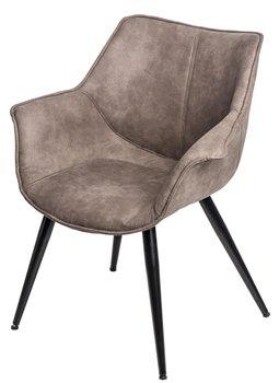 Krzesło INTESI Lord, brązowe, 66x69x78,5 cm-Intesi