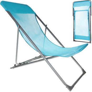 Krzesło Turystyczne Leżak na Plażę Składane Fotel  12177-Iso Trade