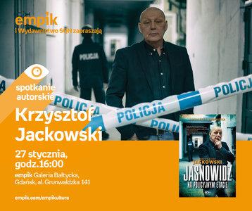 Krzysztof Jackowski | Empik Galeria Bałtycka
