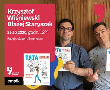 Krzysztof Wiśniewski, Błażej Staryszak – Spotkanie | Wirtualne Targi Książki. Przecinek i Kropka