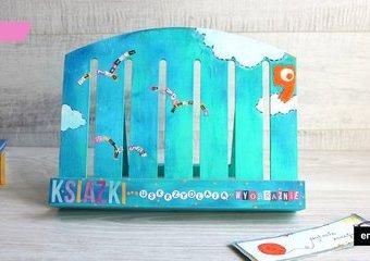 Książka na wyjątkowym miejscu - czyli jak stworzyć oryginalny stojak pod ulubioną lekturę