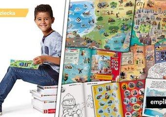 Książki LEGO® – mnóstwo przygód i gwarancja kreatywnej zabawy