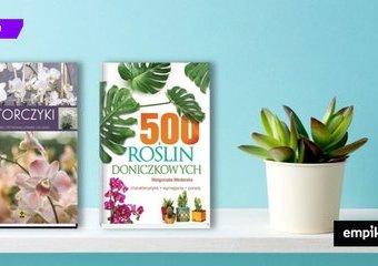Książki o pielęgnacji roślin doniczkowych