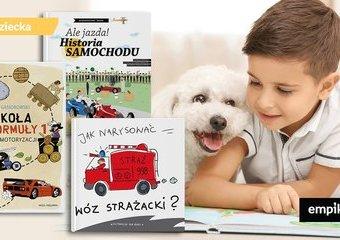 Książki o samochodach i innych pojazdach
