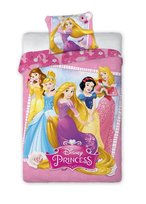 Księżniczki Disneya, Komplet pościeli, 140x200 cm