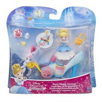 Księżniczki Disneya, lalka Kopciuszek z pojazdem, C0533/C0535-Księżniczki Disneya
