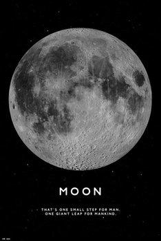 Księżyc - plakat 61x91,5 cm-Grupoerik