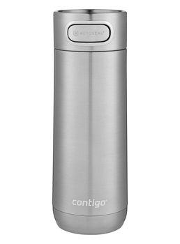 Kubek termiczny Contigo Luxe Autoseal 470ml - Stainless Steel - Srebrny-Contigo