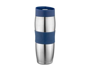 Kubek termiczny FLORINA Capsula, niebieski, 360 ml  -FLORENTYNA