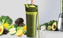 Kubek termiczny z pompą próżniową ASOBU Fresh N Go, zielony, 500 ml