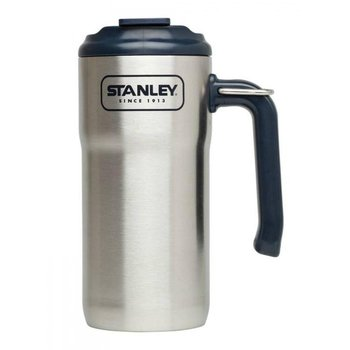 Kubek termiczny z uchwytem STANLEY Adventure, srebrny, 470 ml -Stanley