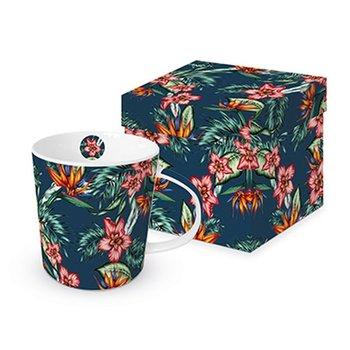 Kubek w pudełku PPD Tropikalne Kwiaty, 350 ml-PPD