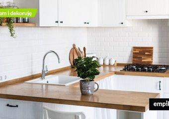 Kuchnia z salonem – jak urządzić mały salon z aneksem kuchennym