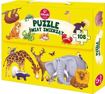 Kukuryku, puzzle Świat zwierząt-Kukuryku
