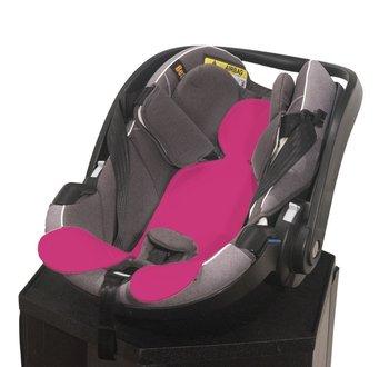 Kuli-Muli, Wkładka antypotowa do fotelika samochodowego, 0-13 kg, Różowy-Kuli-Muli