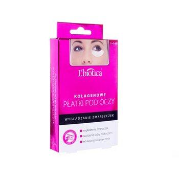 L'Biotica, kolagenowe płatki pod oczy, 3 pary-L'Biotica