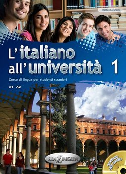 L'italiano all'universita 1. Podręcznik + Ćwiczenia + CD audio - La Grassa Matteo